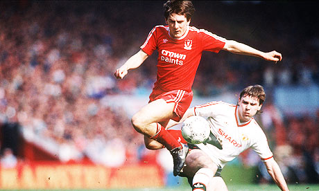 Beardsley and McClair in 1988