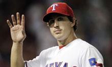 Texas Rangers' Derek Holland