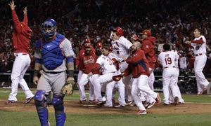 World Series 6: Cardinals celebrate
