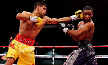 Amir Khan vs. Lamont Peterson