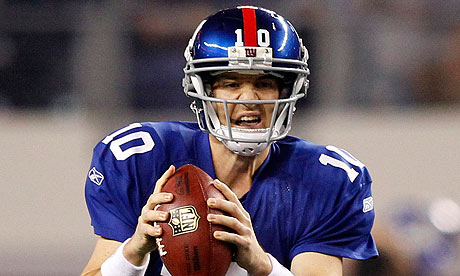 Eli Manning will be looking to keep the New York Giants' playoff hopes alive against the Jets