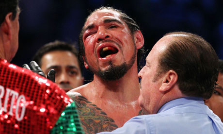 Antonio Margarito loses to Miguel Cotto