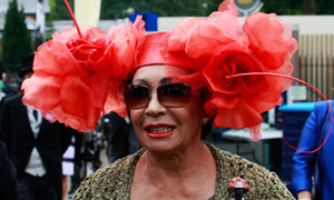Shirley Bassey at Royal Ascot