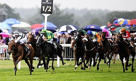 Immortal Verse wins Royal Ascot's Coronation Stakes under Gerald Mosse