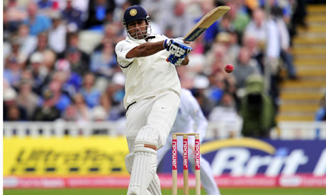 MS Dhoni hits out against England
