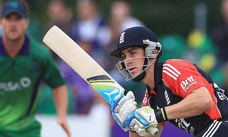 Craig Kieswetter in action