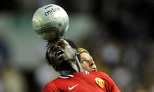 Mame Biram Diouf of Manchester United