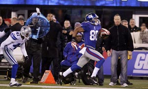 New York Giants Victor Cruz TD vs. Dallas Cowboys