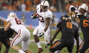 Stanford Cardinal running back Stepfan Taylor vs. Oklahoma State