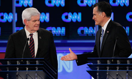 Republican Presidential Candidates Participate In Second Florida Debate