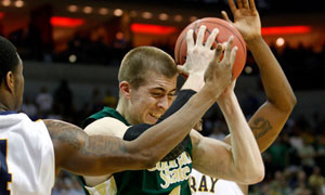 Colorado State University's Pierce Hornung vs Murray State, March Madness 2012