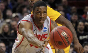 UNM's Demetrius Walker vs LBSU. March Madness