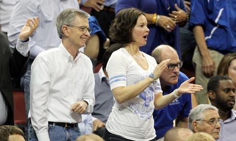 Ashley Judd at Iowa State vs Kentucky. March Madness