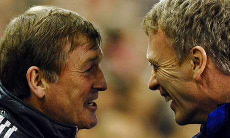 Kenny Dalglish and David Moyes