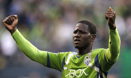 Seattle Sounders' Eddie Johnson