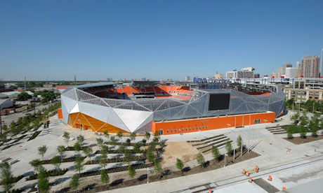Houston Dynamo outside