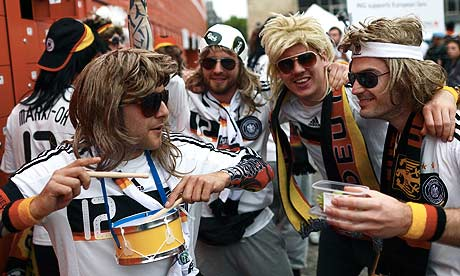 Germany fans in Gdansk