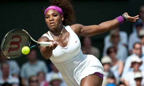 Serena Williams was in blistering form during her semi-final win over Victoria Azarenka at Wimbledon