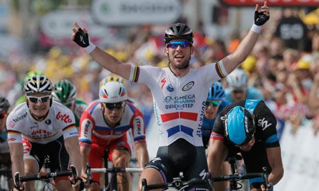 Marc Cavendish wins stage 008