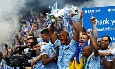 Manchester City Premier League champions