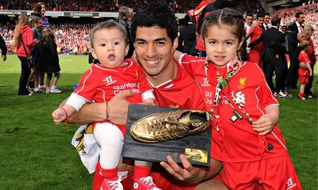 Luis Suarez golden boot