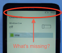 Windows Phone 7: missing details
