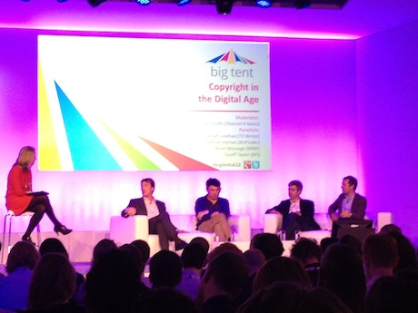 Panel at Google Big Tent May 2012