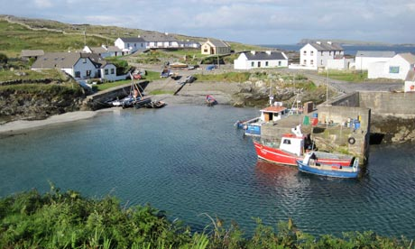 The harbour at Inishturk.