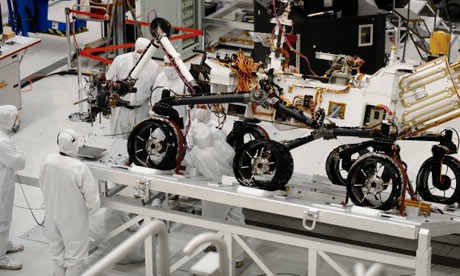 Blast off for a tour of Nasa's jet propulsion laboratory ...