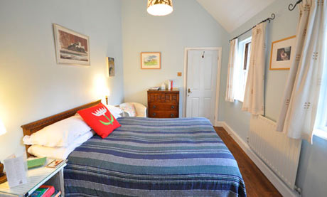Bedroom at Chain Bridge House