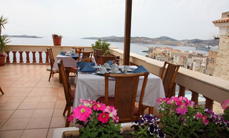 Syrou Melathron hotel, Syros, Greece