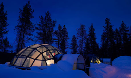Glass Igloo Kakslauttanen Lapland Finland. Finland In Search Of The Northern  Lights Tripulous