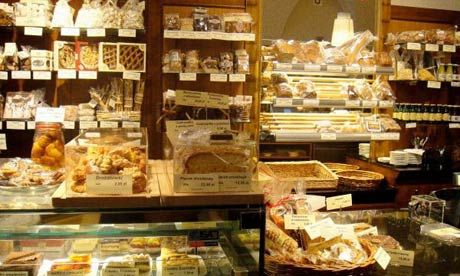 Consonni cake shop in Krakow