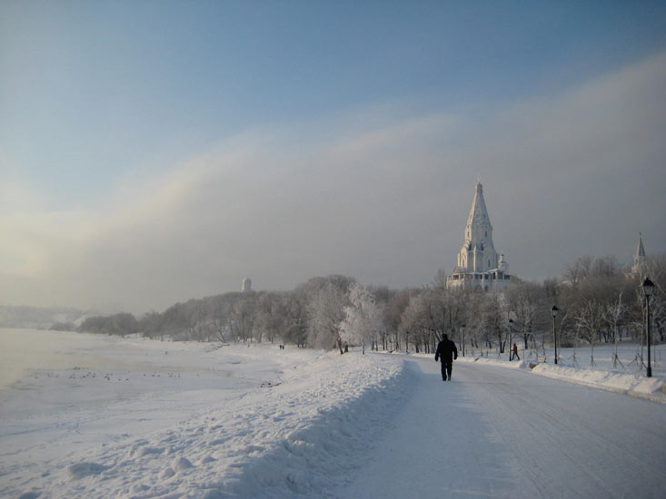 Walking In Moscow S Winter Wonderland Travel The Guardian