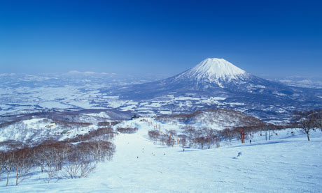 Mount Yoteizan, Niseko, Japan