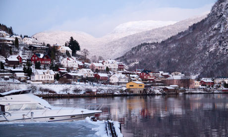 Sogndal, which sits on an inlet of the imposing Sognefjord