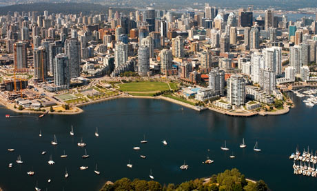 Canada, Vancouver, False Creek