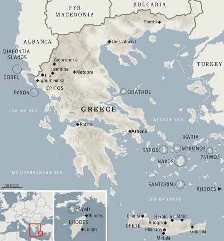 Insiders Guide To Greece Travel The Guardian