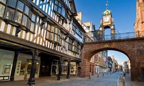 Cities - Chester Eastgate Clock