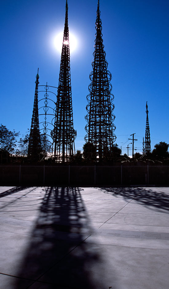 Watts Towers: LA's weird masterpiece | Travel | The Guardian