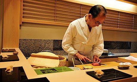 Sushi Mizutani, Tokyo