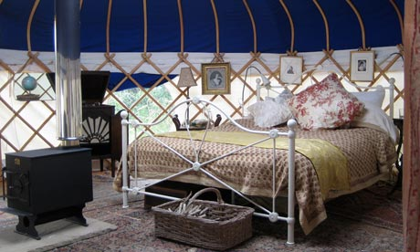 Yarlington Yurts, Somerset