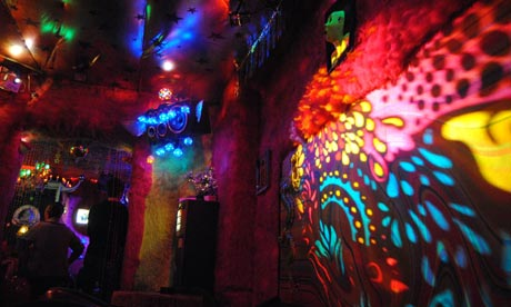 Groovy baby … Roses nightclub in Berlin