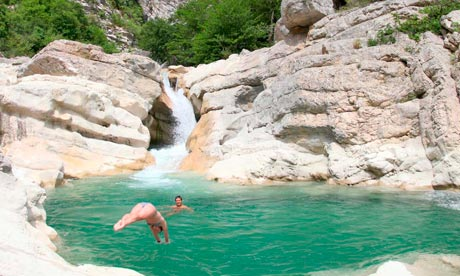 Wild swimming on france 39 s cote d 39 azur travel the guardian for Camping verdon piscine