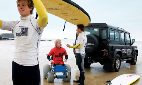 Surfing in Cornwall is accessible to all