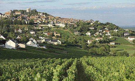 Sancerre France Map.Sancerre Wine Route Top 10 Guide Travel Theguardian Com