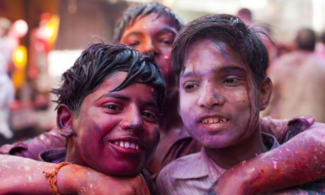 Holi, festival of colours, India