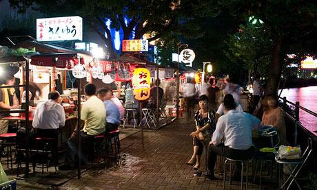 Japanese Yatai food stalls, travel tip
