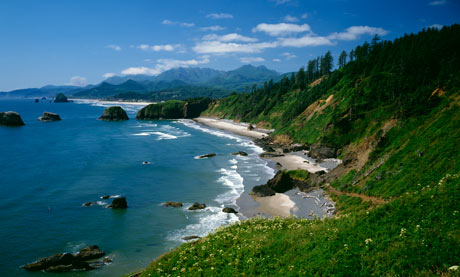 Ecola State Park, Oregon, USA.