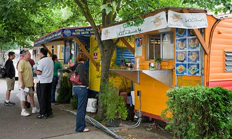 Food carts in Portland, Oregon